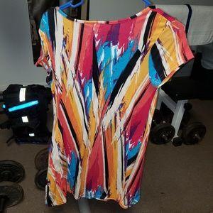 Bobbie Brooks Dresses - Bobbie Brooks multicolored dress with pockets
